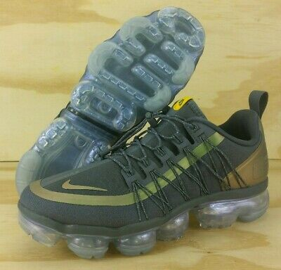 e8c596d5977 Nike Air VaporMax Run Utility Dark Grey Amarillo AQ8810-008 Mens Size 8 WMNS