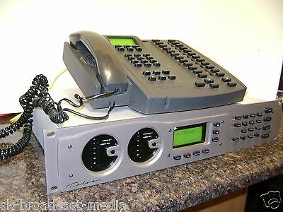 Telos Two X 12 POTS/IP 12 Line Broadcast Studio Talk Show Phone System