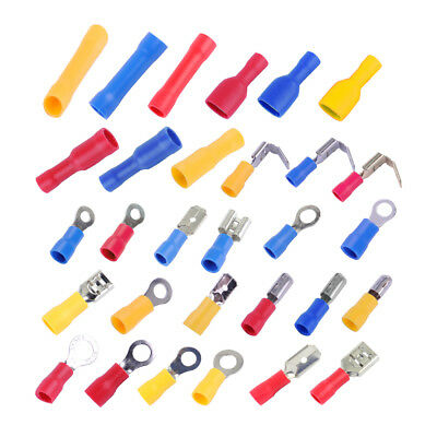 480x Assorted Insulated Electrical Wire Terminal Crimp Connector Spade Set Kit