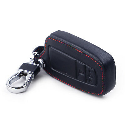 Branded Automotive Merchandise Keyrings & Keyfobs Leather Smart Remote Fob Shell Cover Keychain Holder Key Bag For Toyota C-hr Chr