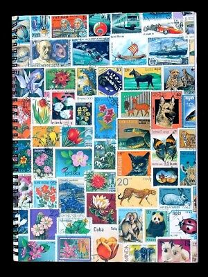 G Wordwide Old Stamp Collection Lot of 1000 MNH MH Used Vintage Stock Book Album