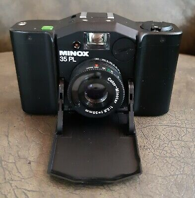 MINOX 35PL 35mm Miniature Film Camera in hardcase-Great condition.
