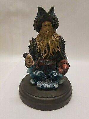 Pirates Of The Caribbean Davy Jones Bust Statue