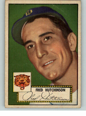 1952 Topps #126 Fred Hutchinson Tigers Ex 331332 (Kycards)