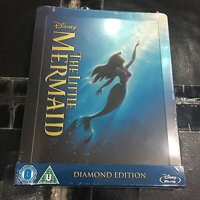 The Little Mermaid Blu-ray Steelbook | Zavvi UK exclusive | NEW Disney Sealed