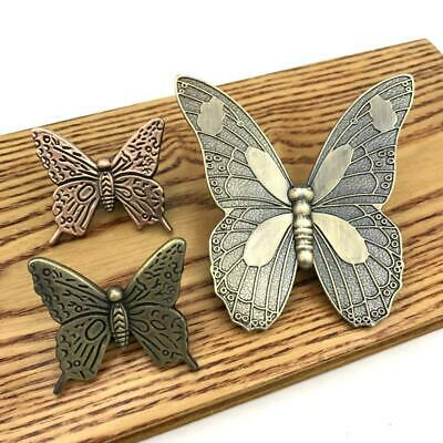 Classical Butterfly  Pull Knob Kitchen Cupboard Dresser Drawer Handle Hardware