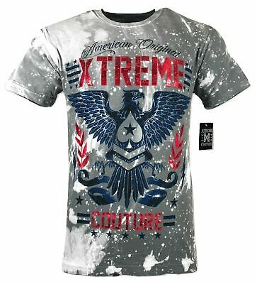 XTREME COUTURE by AFFLICTION Men T-Shirt AMERICAN ORIGINAL Biker MMA Gym S-4X$40