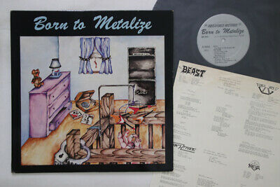 LP VARIOUS Born To Metalize MRI669 MEGAFORCE UNITED STATES Vinyl