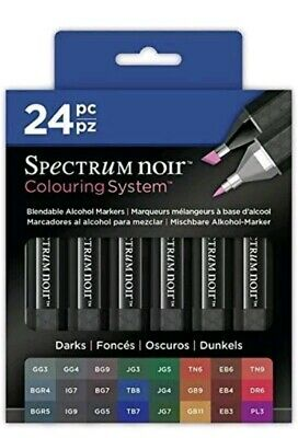 Spectrum Noir - Darks (Set of 24) Brand new