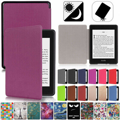 "UK Leather Slim Cover Case For 6"" Amazon Kindle Paperwhite(10th Generation) 2018"