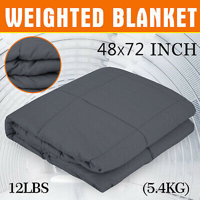 Weighted Blanket Heavy Gravity Kids Adult Deep Sleeping 5.4KG Non-toxic