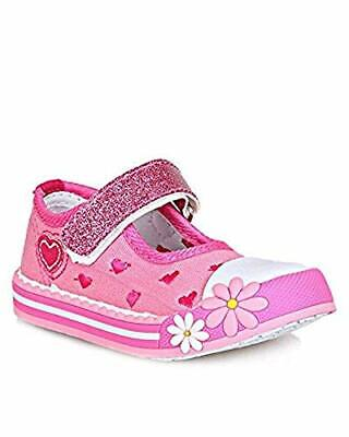 Chatterbox Girls Pink Canvas Shoes UK 8  CH11 67