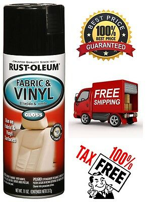 RUST-OLEUM AUTOMOTIVE FABRIC & Vinyl Spray Paint Quick Dry for Car Trucks  RVs