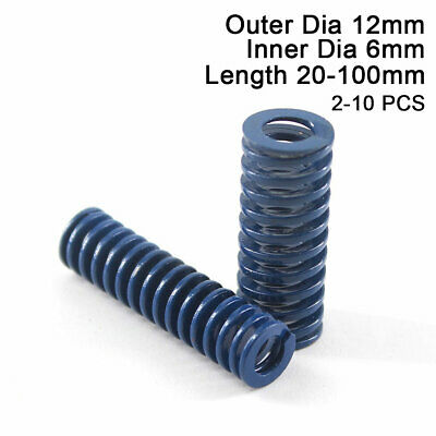 12mm OD Blue Light Load Compression Stamping Mould Die Spring 6mm ID All Sizes