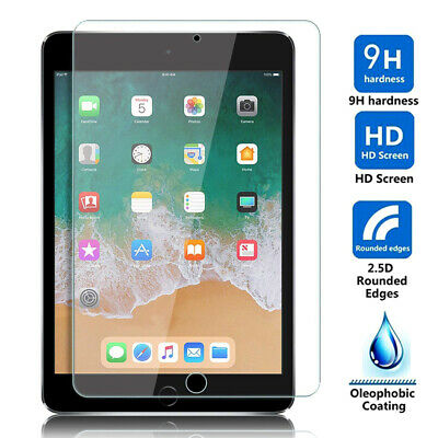 "For New iPad 6th Generation 9.7"" 2018 HD Clear Tempered Glass Screen Protector"
