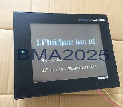 Used Mitsubishi GT1265-VNBA touch screen glass Tested It in good condition