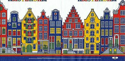 3x napkins Amsterdam / Holland color for collection, decoupage and other crafts