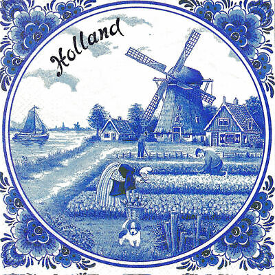 3x napkins Holland for collection, decoupage and other crafts