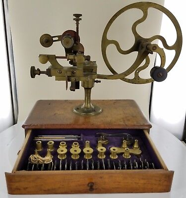 Antique Watchmakers Teeth Rounding Machine