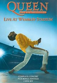 Queen: The DVD Collection: Live At Wembley Stadium 2-Disc Dvd New Factory Sealed