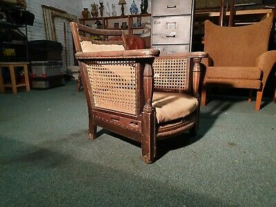 19th C Antique Bergere Plantation Chair - Can deliver