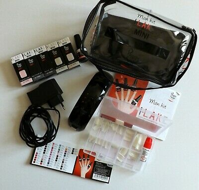 Lak Trousse Vernis Kit Peggy Led I Permanent Avec Lampe Mini Semi Sage xCBroed