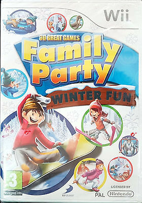 30 Great Games Family Party:Winter Fun Wii Game 2010-PAL-