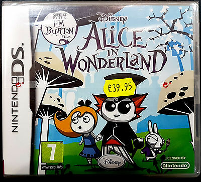 Alice In Wonderland Disney   Nintendo Ds -Pal-