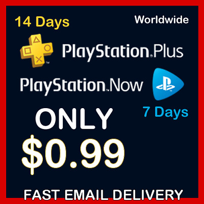 PS PLUS 14 Days + PS NOW 7 Days For PS4 - PlayStation (GLOBAL)