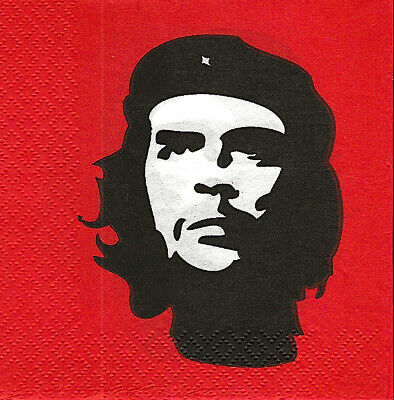 3x napkin The Che Guevara/ cocktail size