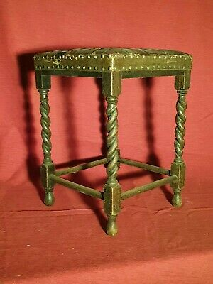 Early Arts & Crafts Movement Stool Chair