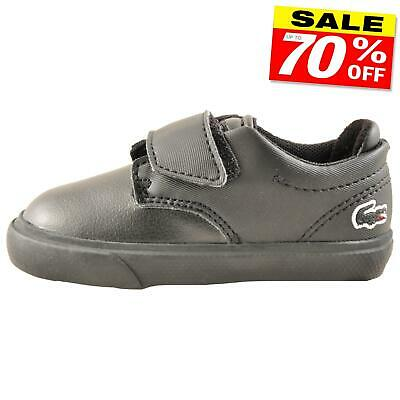 fbe7f2942 LACOSTE CARNABY EVO 117 Infants Toddlers Classic Designer Trainers ...