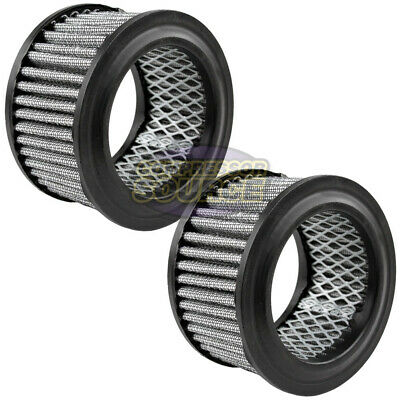 2 Pack Air Compressor Intake Filter Polyester Element with Pre Filter AP425 #15P