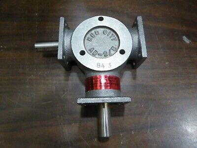 Hub City Bevel Gear Reducer AD5 1:1 Ratio  0220-00403