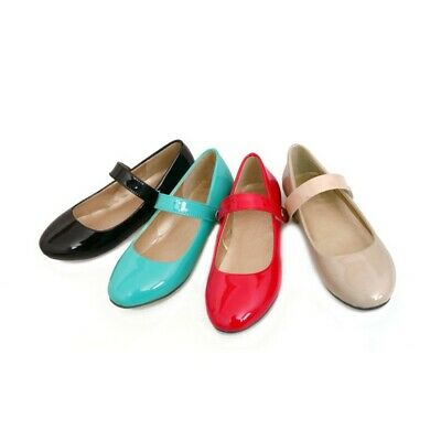 bcd405737d01b FASHION WOMENS ANKLE Strap Ballet Flats Mary Janes Summer Shoes Us ...