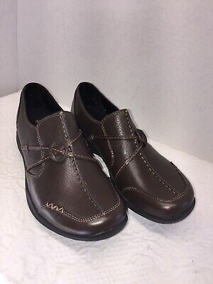 d8920650ef16f Clarks Wave Walk Brown Casual Loafers Shoes Women's Size 7.5 N.W.O.T.