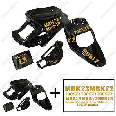 Fairings Shiny Black Stickers Gold Iron-On MBK Booster Spirit' 88'/03