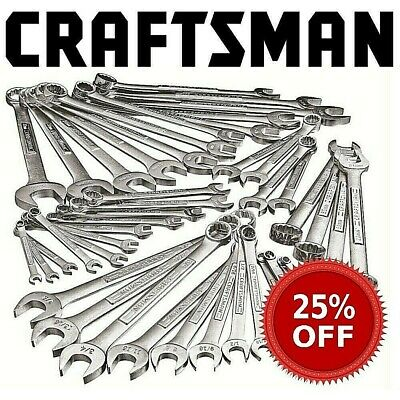 New Craftsman Combination Wrench SAE Inch or Metric MM Choose Any Size 12 Point