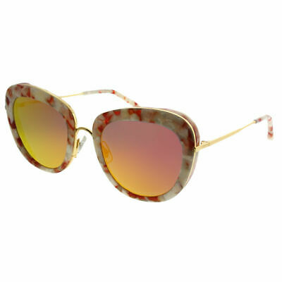 4757073138d Gentle Monster Joli Lady WRD1 M Beige Red Marble Gold Sunglasses Red Mirror  Lens