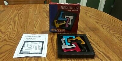 Bits and Pieces Hercules Brainteaser