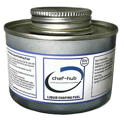 Box 48 Tins 6 Hour Chef-Hub Chafing Dish Fuel ***Free Next Day Delivery***