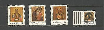 Christmas Past  1988     #1222  - 1225   Mnh