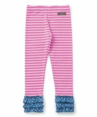 MATILDA JANE Between The Pages Leggings Size 4 6 8  NEW Girls Pink Stripe
