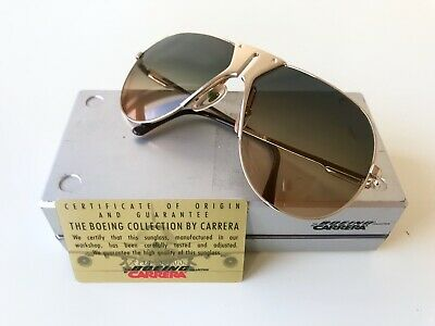 9b28a377bc vintage BOEING by Carrera 5701 large sunglasses gold rare Germany aviator  5700