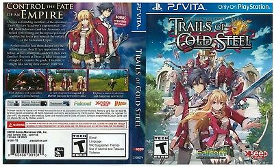 Sony PlayStation Vita Replacement Case and Cover Legend of Heroes Trailes of Col