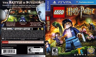 Sony PlayStation Vita Replacement Case and Cover Lego Harry Potter Years 5-7