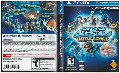 Sony PlayStation Vita Replacement Case and Cover Playstation Allstars