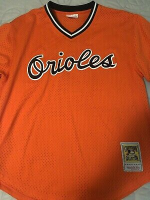 1a0783db423 MITCHELL AND NESS 1988 Baltimore Orioles Cal Ripken Jersey Sz 44 ...