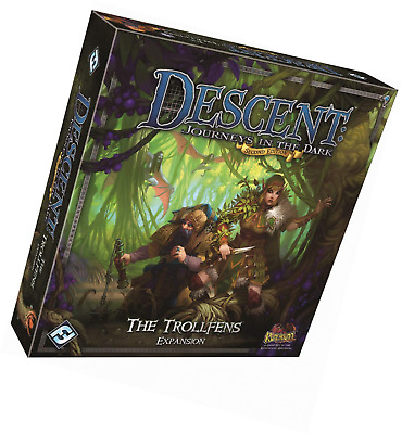 Descent Second Edition Expansion the Trollfens