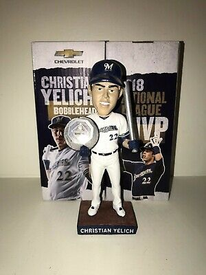 7796c21081c CHRISTIAN YELICH BOBBLEHEAD Milwaukee Brewers 6 9 19 PRESALE SGA ...